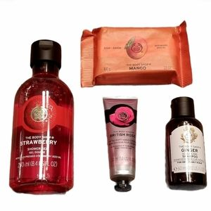 The Body Shop Products - 4pcs
